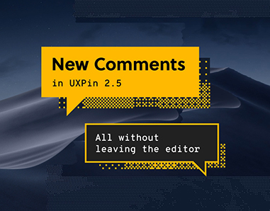 New Comments in UXPin